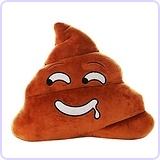 Lovely Poo Shape Pillow