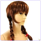 Annabelle Style Brown Wig