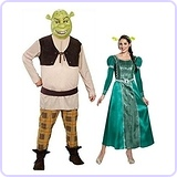 Shrek and Fiona Couples Costume