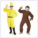 Curious George Costume Duo