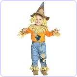 Toddler Li'l Scarecrow Wizard of Oz Costume