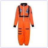Boys Astronaut Role Play Costume, 2T-3T
