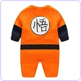 Dragon Ball Z Baby Goku Rompers Costume
