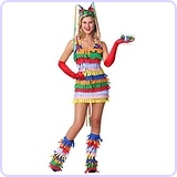 Sexy Pinata Costume