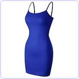 Casual Sleeveless Cami Mini Dress