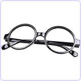 Nerd Style Round Shape Glass Frame (NO LENSES)