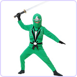 Ninja Avengers Series Green Costume Medium (8-10)