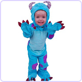 Monsters University Sulley Toddler Costume