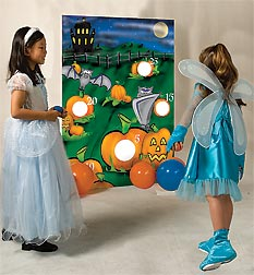 Halloween Bean Bag Toss Game for children
