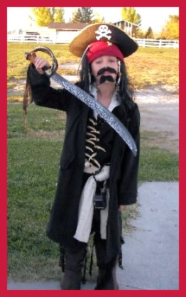 Homemade Pirate Captain Costume