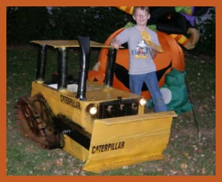 Homemade Caterpillar Costume for Boys