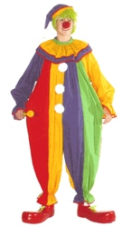 Classic Clown Plus Size Costume
