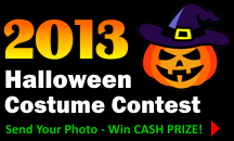 2013 Halloween Costume Contest!
