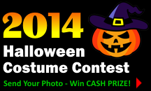 2014 Halloween Costume Contest!