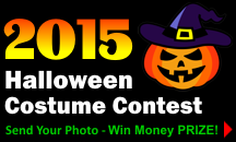 2015 Halloween Costume Contest!
