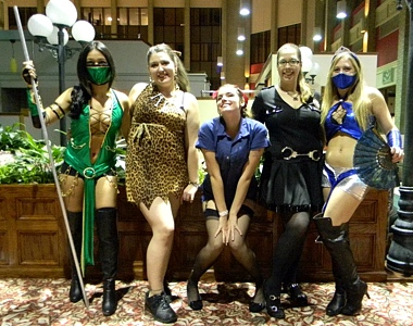 Video Game Costumes - Mortal Combat Character