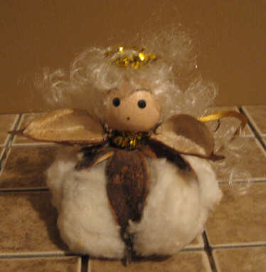 Cotton Angel Decoration
