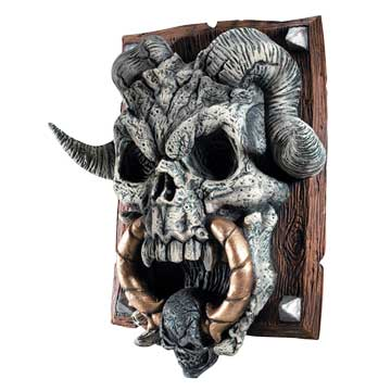 Cool Halloween decoration - Demon Door Knocker