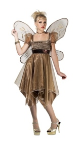 Metallic Copper Fairy Costume