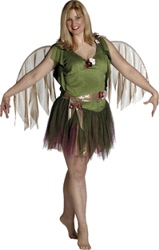 Plus Foliage Fairy Costume