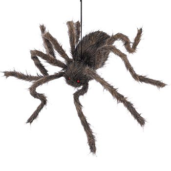 Hanging Hairy Spider decoration