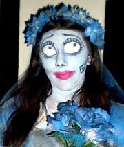 Corpse Bride Halloween Make-up