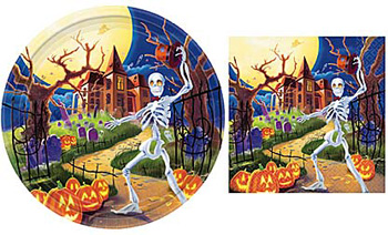Spooky Hollow Luncheon Napkins Pkg