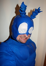 Homemade Bug Costumes - The Tick