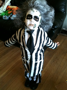 Beetlejuice Movie Costume