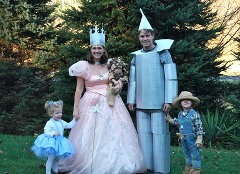 The Wizard of Oz Costume Idea for Families
