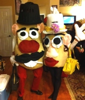 Mr. and Mrs. Potato Head Toys Costumes