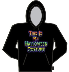 This Is My Halloween Costume Hoodie