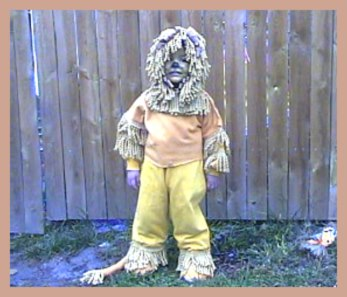 The Wizard of Oz Cowardly Lion Costume