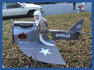 Homemade Plane Costume for boys