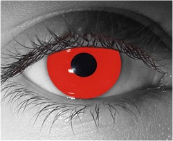 Colored Contact Lenses for Halloween (Red)