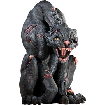 Halloween decoration Scary Cat Figure