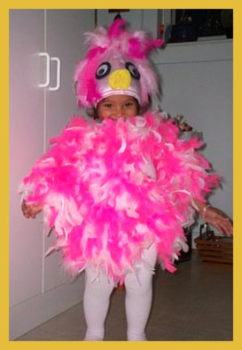Pink Bird Costume for girls