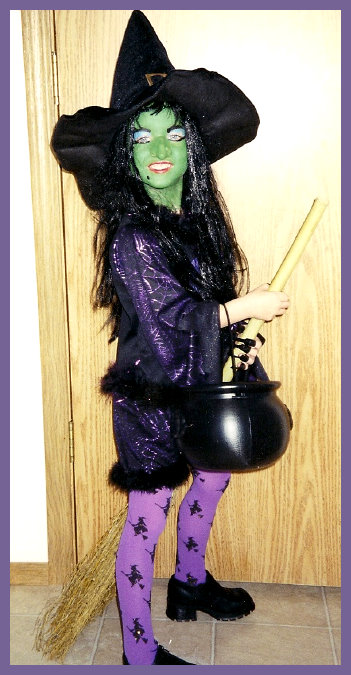Homemade Wicked Witch Costume