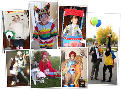 2012 Halloween costume contest winners