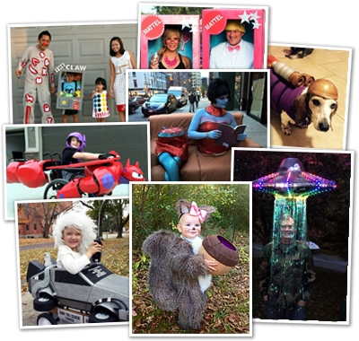 2015 Halloween costume contest winners
