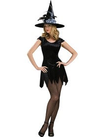 A Mini-Skirted Witch costume