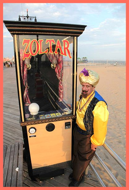 Zoltar Fortune Telling Booth From The Movie Big